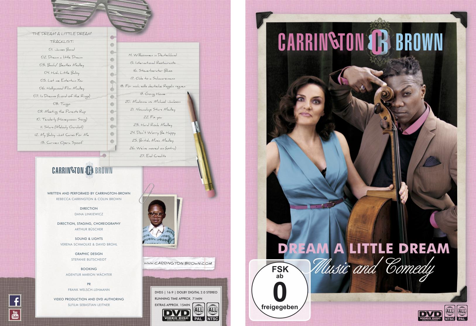Dream A Little DREAM – DVD